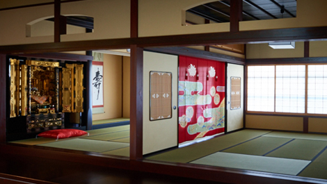 Buddhist alter room & Japanese room