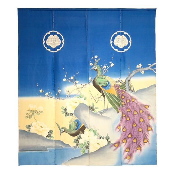 title:Kujyaku・Ume・botan (Peacock,Plum&Peony)