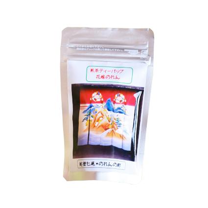 たっぷり茶葉が入ったティーバッグ。ホットでも冷茶でも美味しくお召し上がり頂けます。(540円)